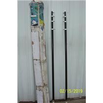 Boaters Resale Shop of TX 1902 0775.04 TACO TELE-OUTRIGGER SET OT-0442BKA15