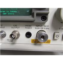 HP 8563E Spectrum Analyzer, 9kHz to 26.5GHz, 3.5mm connector