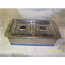 Boaters' Resale Shop of TX 1904 0427.01 ORIGO 4000 ALCOHOL 2 BURNER STOVE