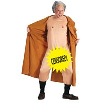 Frank the Flasher Dirty Adult Joke Naughty Costume