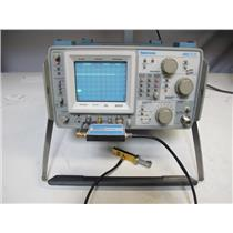 Tektronix 492 Spectrum Analyzer 50KHz-21GHz W/ Opt.1,2,3 & Waveguide Mixing Kit