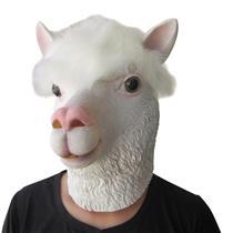 Alpaca Llama Halloween Costume Funny Mask