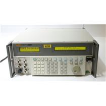 Fluke 5820A Oscilloscope Calibrator with 5 Channel 2.1 GHz Bandwidth FOR PARTS