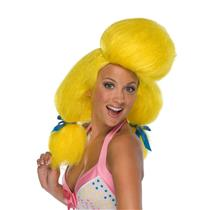 60's Yellow Poodle Hair Spray Wig