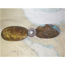 "Boaters' Resale Shop of TX 1905 2272.02 BRONZE 2 BLADE 24RH14 PROP -1.5""  SHAFT"