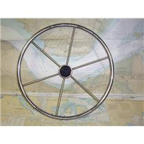 """Boaters' Resale Shop of TX 1905 2422.01 DISHED 22"""" STEERING WHEEL FOR 3/4"""" SHAFT"""