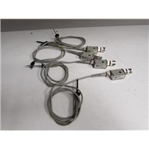 Agilent HP 10430A Oscilloscope Passive Probe 10:1 500 Mhz, qty 4