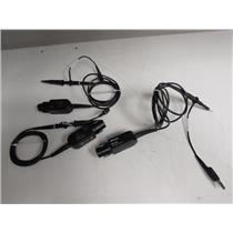 Tektronix P6139B Voltage Probe 500MHz, 10MOhm, 8.0pF, 10X, 300V CAT II, Qty 3