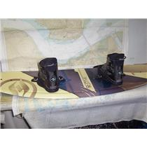Boaters' Resale Shop of TX 1906 5101.41 HYPERLITE MOTIVE 740 WAKE BOARD & BOOTS
