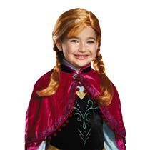 Disney Princess Frozen: Anna Pigtail Child Wig