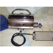 "Boaters' Resale Shop of TX 1907 0254.02 FORCE 10 PROPANE BBQ 7"" x 14"" GRILL"