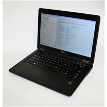 """Dell Latitude E7250 12.5"""" Intel Core i5 5th Gen 8GB 256GB Ultrabook Graphic 5500"""