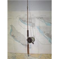 "Boaters' Resale Shop of TX 1908 3501.21 PENN 6.0 REEL ON A 44"" ROD"