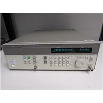 Agilent HP 83712B Synthesized CW Generator,10 MHz-20 GHz Opt 1E1, 1E5 calibrated