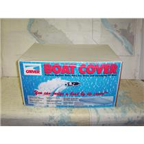 Boaters' Resale Shop of TX 1907 2744.02 CARVER 77117P GRAY 17.5 FT BOAT COVER