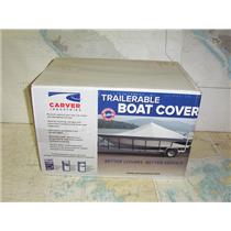 Boaters' Resale Shop of TX 1907 2744.01 CARVER 71113P GRAY 17.5 FT BOAT COVER