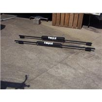 "Boaters' Resale Shop of TX 1908 0751.01 THULE 79"" ROOF RACKS WITH PADS 45058"
