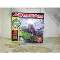 "Boaters' Resale Shop of TX 1908 1777.11 AIRHEAD ""REBEL"" DECK TUBE, PUMP & ROPE"