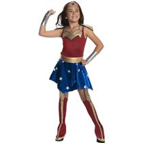 Wonder Woman Super Hero Deluxe Girls Costume Large 12-14