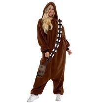 Star Wars Chewbacca Jumpsuit Pajama Costume X-Large