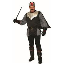 Dark King Medieval Black Adult Mens Costume