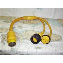 Boaters' Resale Shop of TX 1909 1024.05 MARINCO 153AY 50A TO TWO 30A Y-ADAPTOR