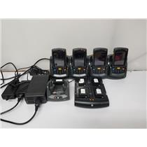 Motorola Symbol MC75A0 Barcode Scanners x4 w/ SAC7X00-4, CRD7X00-1 & CRD7X00-4