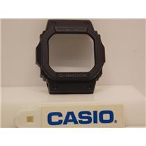 Casio Watch Parts Bezel/Shell GW-M5600, GW-M5610 All Black Gray Lettering.