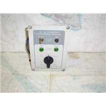 Boaters' Resale Shop of TX1910 2752.11 MARINETICS 921 AC POWER CONTROL PANEL