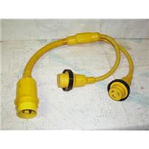 Boaters' Resale Shop of TX 1910 4145.12 MARINCO 153AY 50A TO TWO 30A Y-ADAPTOR