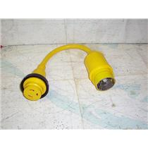 Boaters' Resale Shop of TX 1910 4145.02 MARINCO #121A PIGTAIL ADAPTER 3OA TO 50A
