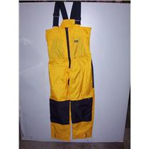 Boaters' Resale Shop of TX 1911 0577.12 GILL SMALL FOUL WEATHER BIB PANTS ONLY