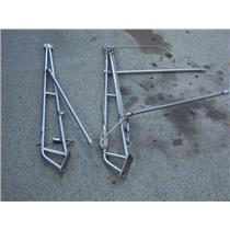 Boaters' Resale Shop of TX 1911 1722.14 ST. CROIX STAINLESS STEEL DAVIT SET