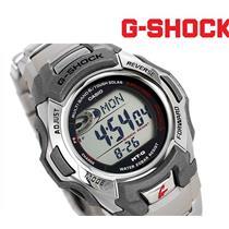Casio MTG-M900DA-8CR AutoSet/Atomic/Solar Steel Bracelet.w/Warranty/Instructions