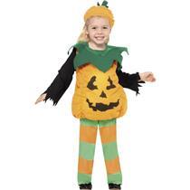 Little Pumpkin Jackolantern Toddler Halloween Costume