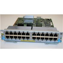HP Aruba J9534A v2 zl Switch Module 24-Port Gig-T RJ45 PoE+ PoE expansion card !
