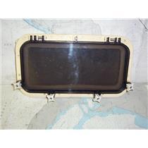 "Boaters' Resale Shop of TX 2001 0472.07 POMPANETTE OPENING PORTLIGHT 6"" x 14"" CO"