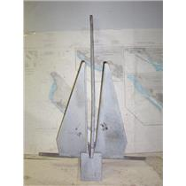 Boaters' Resale Shop of TX 1806 0552.01 DANFORTH S2000 GALVANIZED 43 LB  ANCHOR