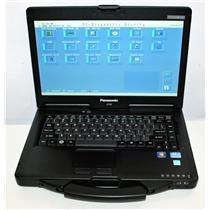 "Panasonic ToughBook 14"" CF-53 MK2 Core i5 3rd 8GB 160GB SSD WiFi BT DVD 30 Hours"