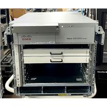 Cisco ASR-9006-DC Chassis with 2x ASR-9006-FAN & A9K-DC-PEM Power Tray