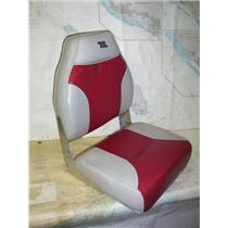 "Boaters' Resale Shop of TX 2005 0777.01 GREY & RED FOLDING ""JOHN BOAT"" SEAT"