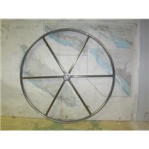 "Boaters' Resale Shop of TX 2006 0571.12 DESTROYER 28"" STEERING WHEEL- 1"" SHAFT"
