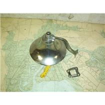 """Boaters' Resale Shop of TX 2006 1122.01 CHROME 5-3/4"""" SHIP'S BELL & BRACKET"""