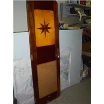 Boaters' Resale Shop of TX 2005 2721.01 WOODEN DOOR WITH COMPASS ROSE & KEYS