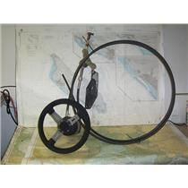 Boaters' Resale Shop of TX 2006 0555.31 TELEFLEX STEERING CABLE & WHEEL ASSEMBLY