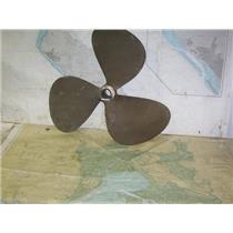 """Boaters' Resale Shop of TX 2007 0125.01 PROP BRONZE 3 BLADE 24LH17 PROP-1-3/4"""""""