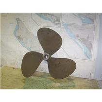 """Boaters' Resale Shop of TX 2007 0125.02 PROP BRONZE 3 BLADE 24RH17 PROP-1-3/4"""""""