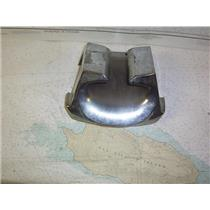 "Boaters' Resale Shop of TX 1310 0105.08 HUGE CHROME BOW CHOCK 6"" x 9"" x 10"""