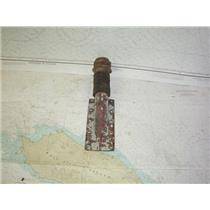 """Boaters' Resale Shop of TX 2006 0555.04 BRONZE 1"""" SHAFT THRU-HULL ASSEMBLY"""