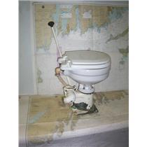 Boaters' Resale Shop of TX2008 1172.01 WILCOX SKIPPER TYPE 8 MARINE TOILET